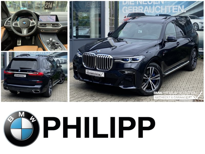 BMW X7 xDrive30d M Sportpaket NightVision Laser Sky AHK, Jahr 2020, Diesel