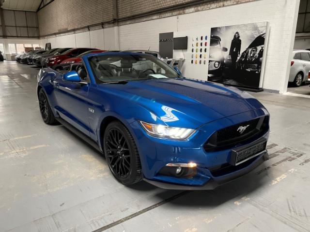 Ford Mustang GT Convertible 5.0 Ti-VCT V8,Navi,PDC,BT, Jahr 2017, Benzin