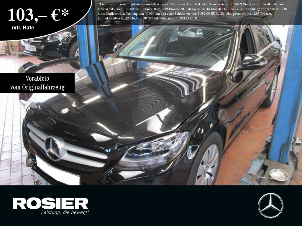 Mercedes-Benz C 220 d T Navi Kamera Klima Bluetooth Temp. el., Jahr 2016, Diesel