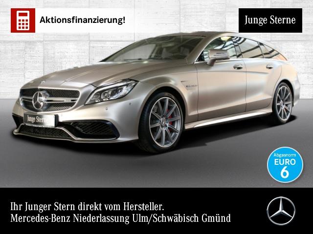 Mercedes-Benz CLS 63 AMG T SB 4M Burmester 3D Driversp Perf-Lenk, Jahr 2015, petrol
