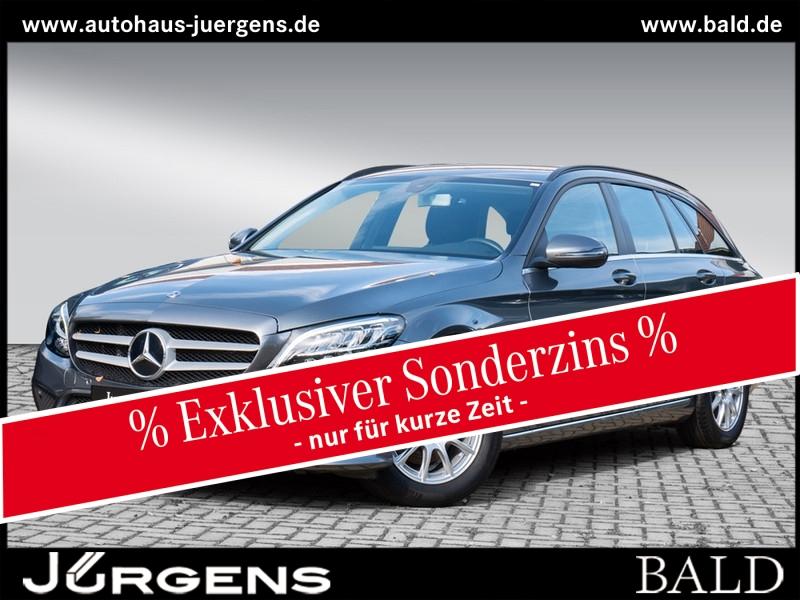 Mercedes-Benz C 160 T Avantgarde/Navi/LED/Kamera/AHK/EASY-P/16, Jahr 2019, Benzin