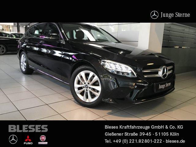 Mercedes-Benz C 180 T Avantgarde +Adv.Info+AssistP+Adv.Licht+, Jahr 2019, Benzin