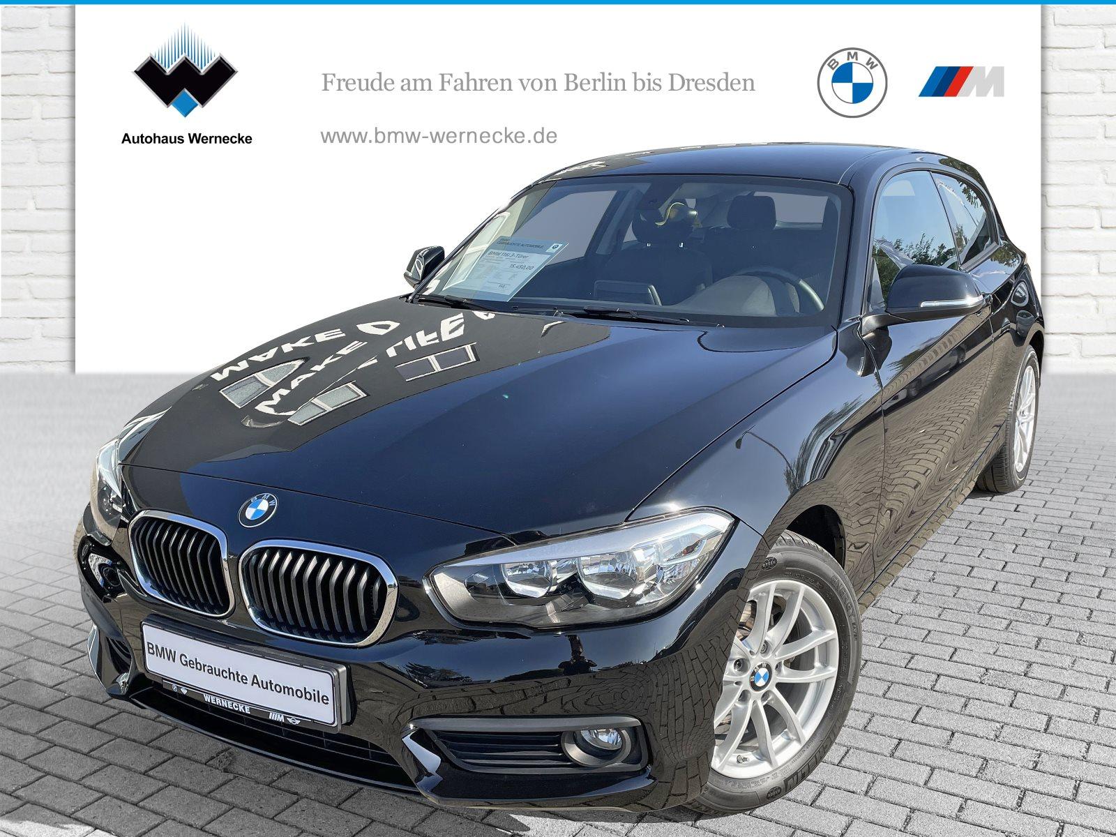 BMW 116i 3-Türer Advantage Tempomat USB Shz PDC, Jahr 2018, Benzin