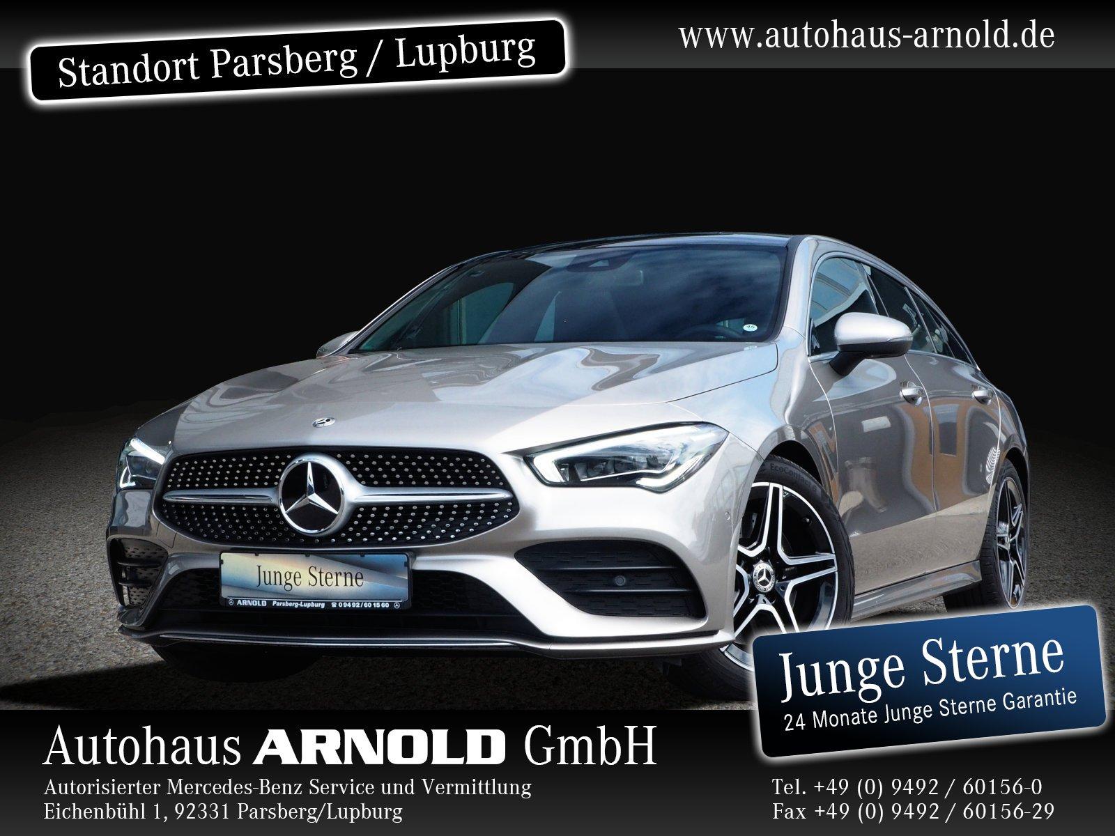 Mercedes-Benz CLA Shooting Brake 4M AMG Line Panorama Navi, Jahr 2019, Benzin