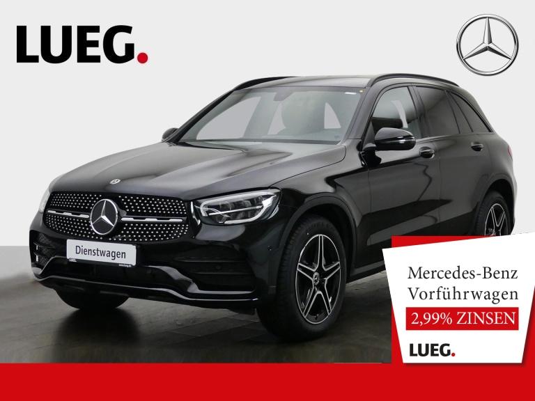 Mercedes-Benz GLC 200 d 4M AMG+19''+NIGHT+KAMERA+AMBIENTE-BEL, Jahr 2020, Diesel