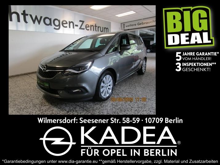 Opel Zafira C 1.6 5 Jahresgarantie 3 Inspektionen, Jahr 2019, Benzin