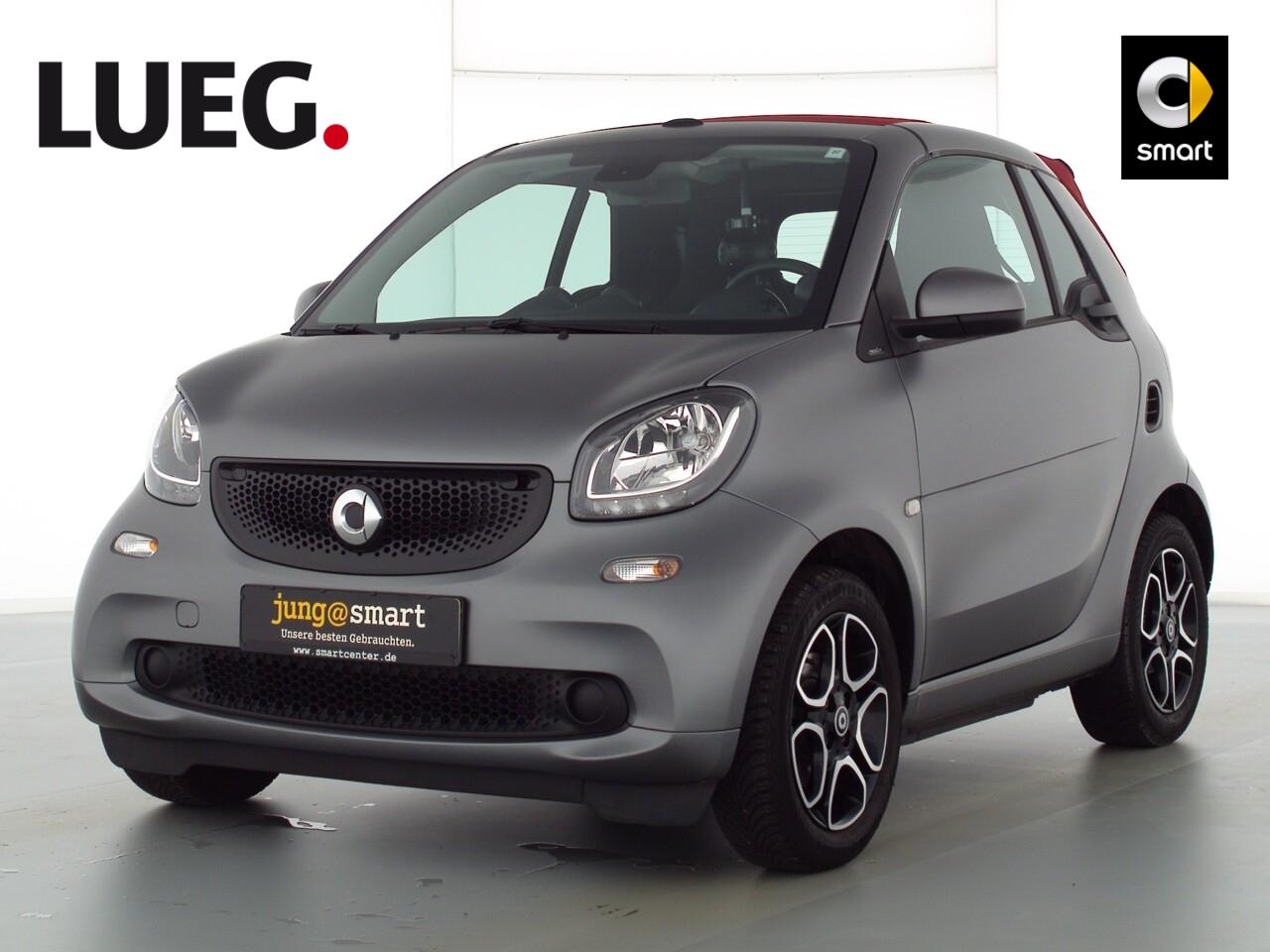 smart fortwo cabrio 66kW (90PS) passion Cool u. Audio, Jahr 2018, Benzin