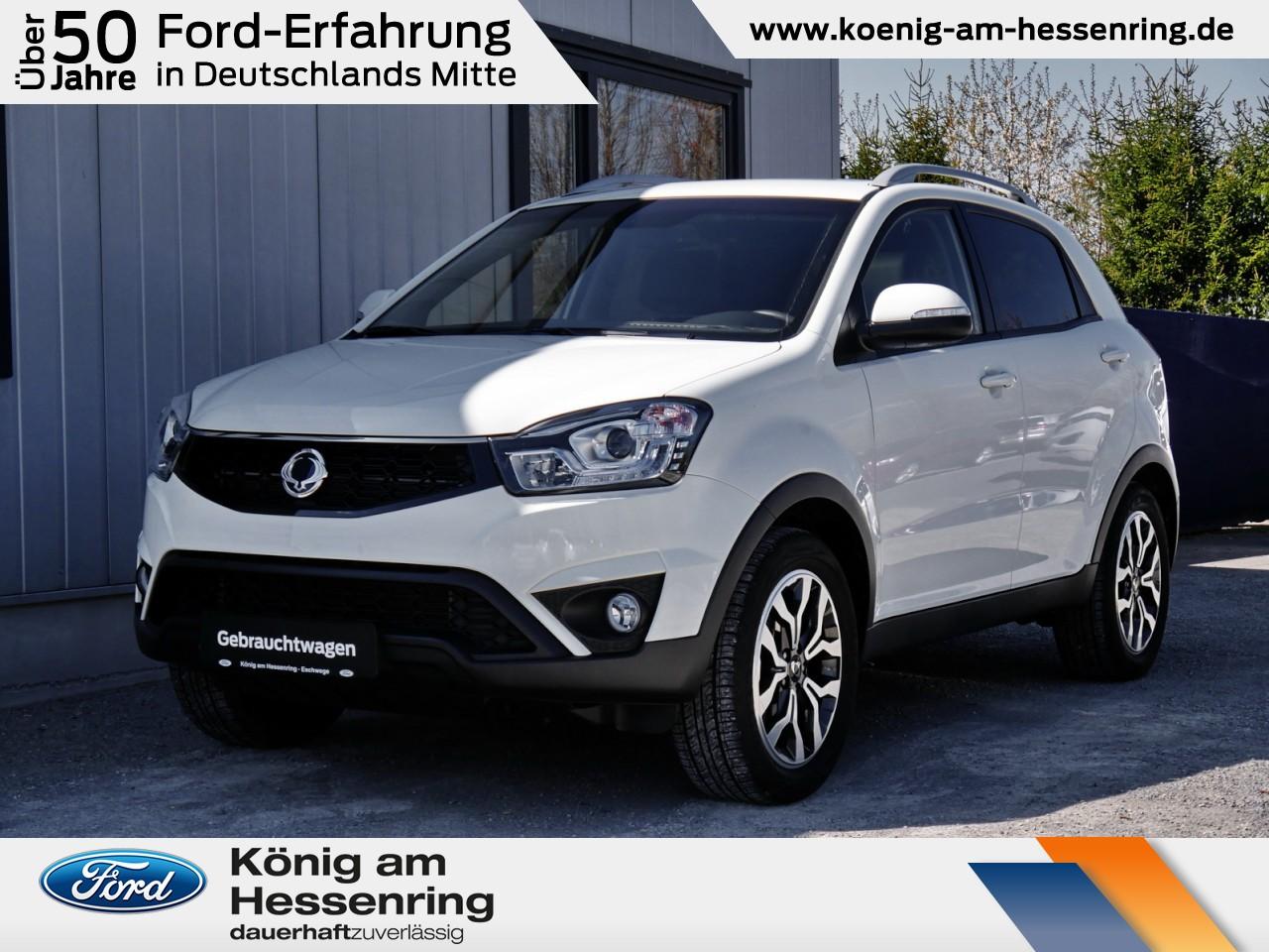 Ssangyong Korando Sapphire 4x4 2.0 Autom.+AHK+Schiebedach, Jahr 2017, Benzin
