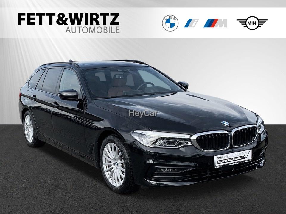 BMW 520d Tour. Sport HUD GSD ACC LR ab 325,- br.o.A, Jahr 2019, Diesel