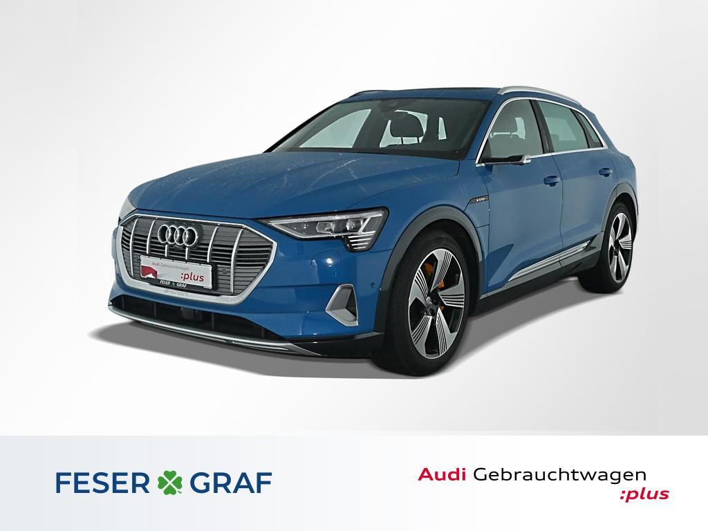 Audi e-tron advanced 55 qu. Matrix-LED+v-cockpit Pano, Jahr 2019, Elektro