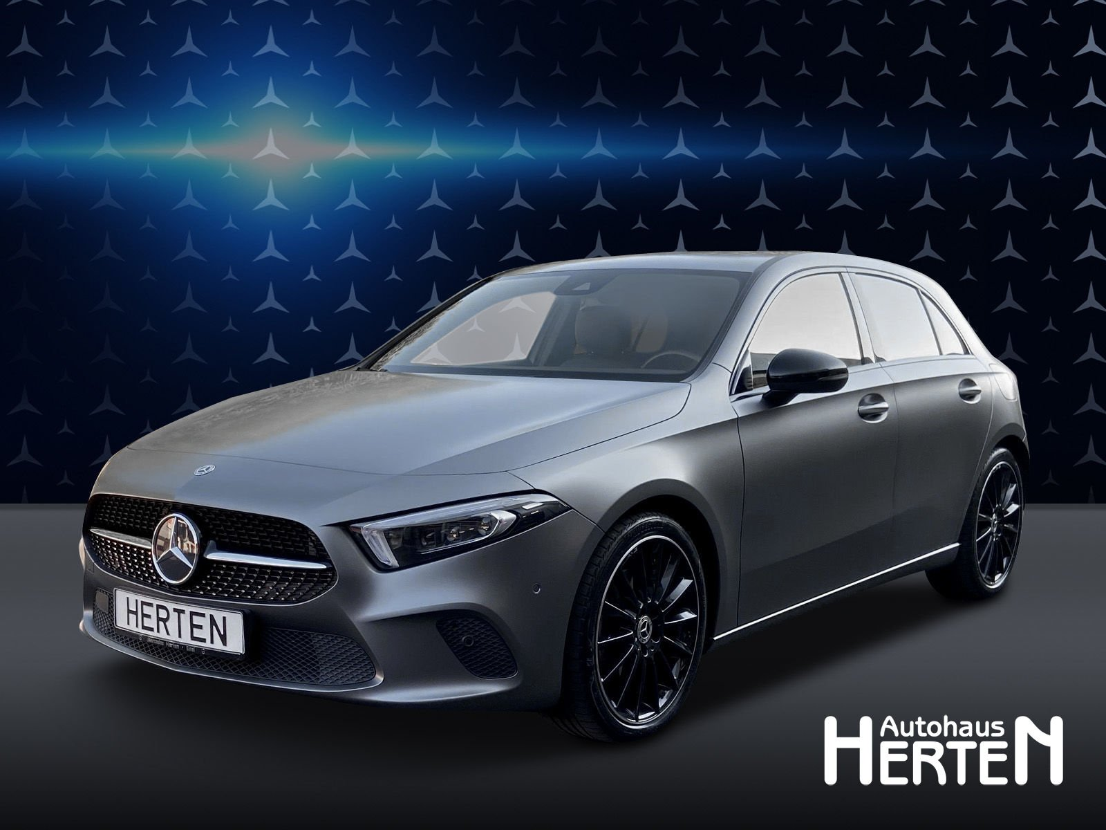 Mercedes-Benz A 250 PROGRESSIVE+NIGHT+MULTIBEAM+NAVI PREMIUM, Jahr 2018, Benzin