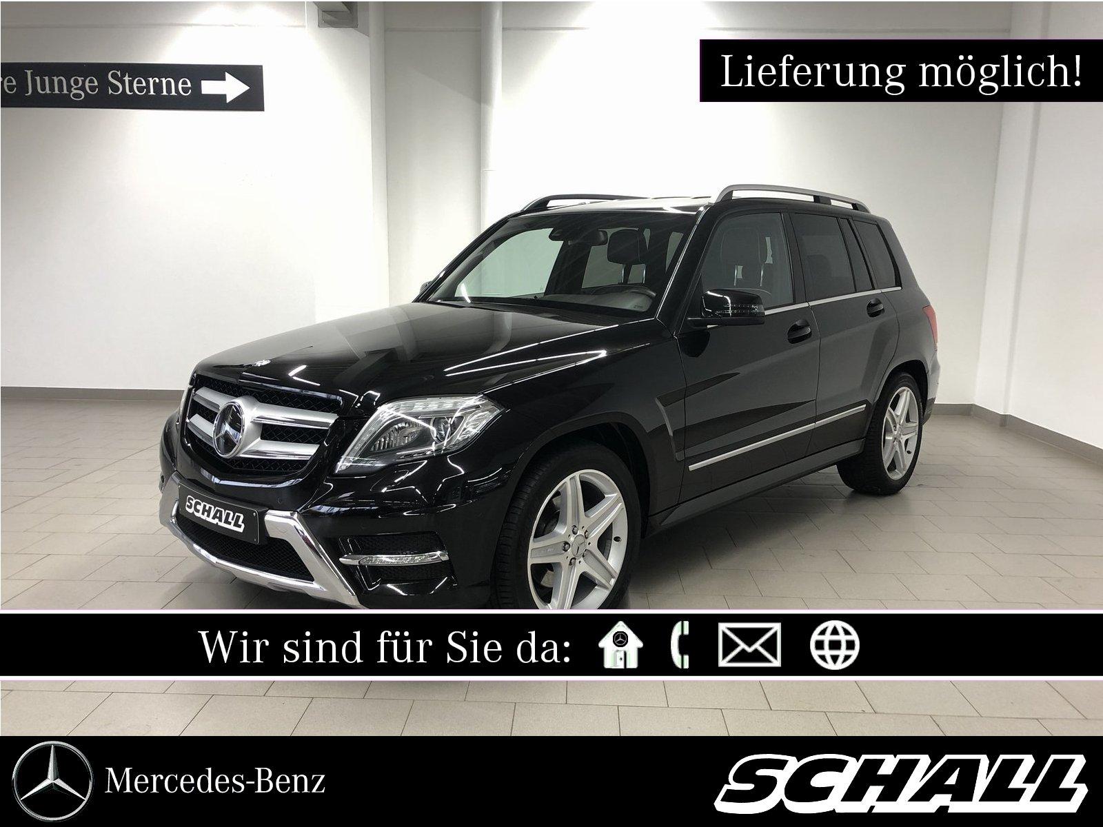 Mercedes-Benz GLK 250 BT 4M AMG+DISTRONIC+COMAND+ILS+H&K+KAM, Jahr 2013, Diesel