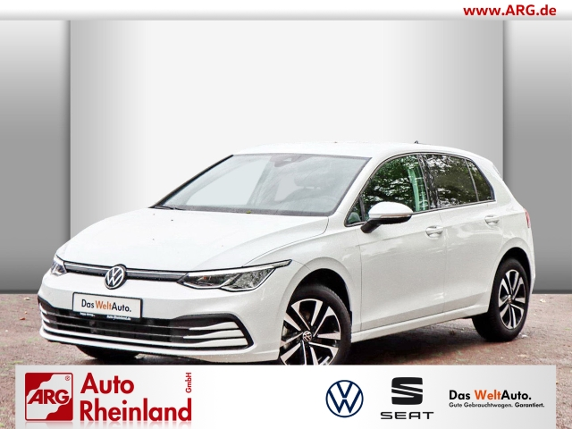 Volkswagen Golf VIII United 1.0 TSI OPF ACC/LED/Navi/PDC/SHZ, Jahr 2020, Benzin