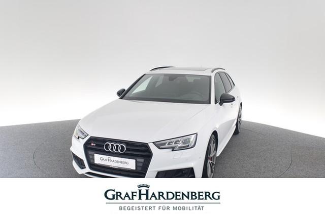 Audi S4 Avant 3.0 TFSI quattro Matrix-LED B&O DAB, Jahr 2017, petrol