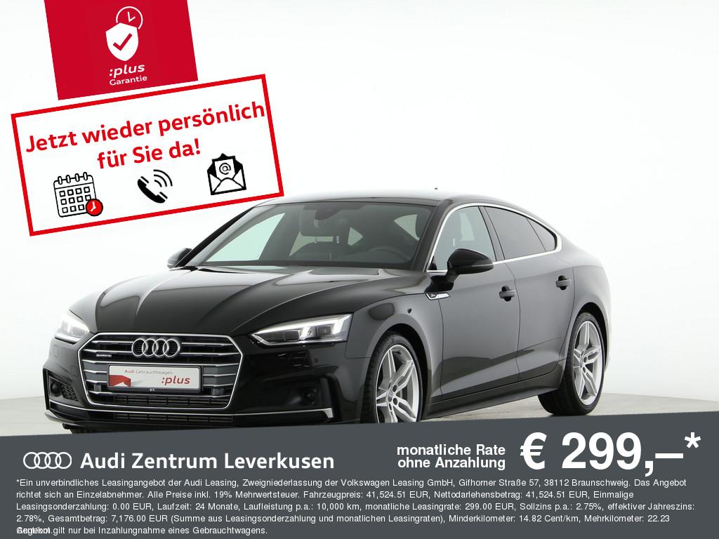 Audi A5 Sportback 45 TFSI quattro sport, Jahr 2019, Benzin