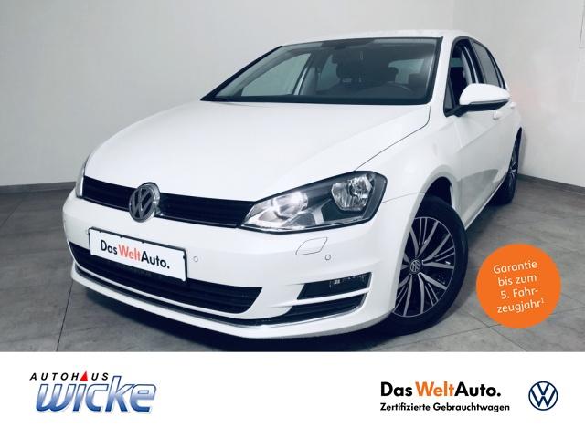 Volkswagen Golf VII 1.4 TSI Allstar GRA Klima ParkPilot LM, Jahr 2016, Benzin