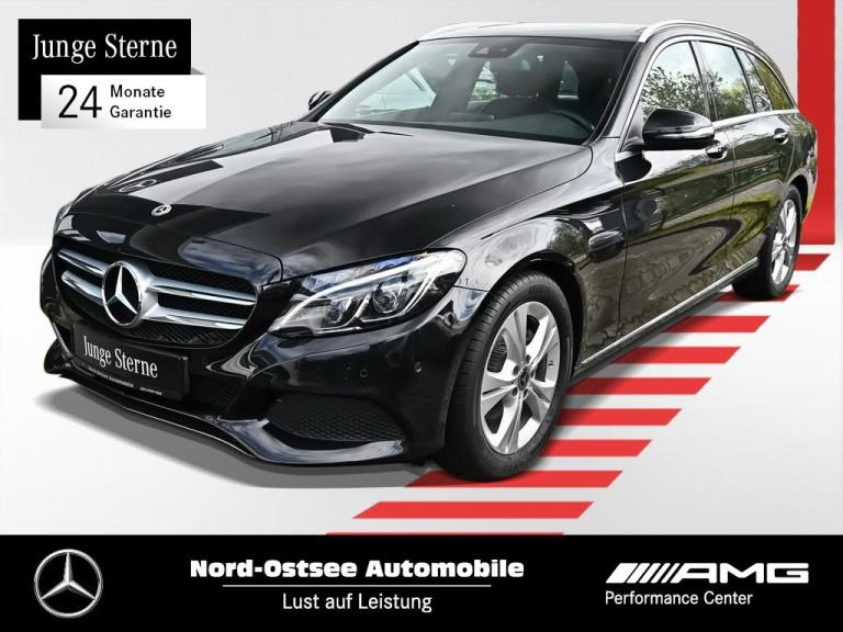Mercedes-Benz C 220 d T Avantgarde Navi LED Pano-Dach Sitzhzg., Jahr 2017, Diesel