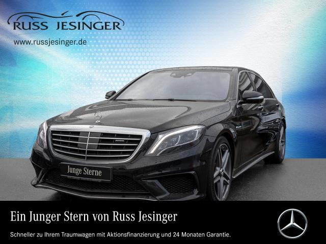 Mercedes-Benz S 63 AMG 4MATIC Lang +DISTRONIC+PANO+SITZKLIMA+, Jahr 2015, Benzin