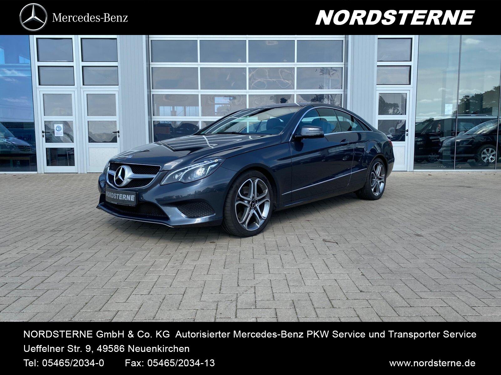 Mercedes-Benz E 220 CDI Coupé COMAND+SITZHEIZUNG+TEMPOMAT+LED, Jahr 2014, Diesel