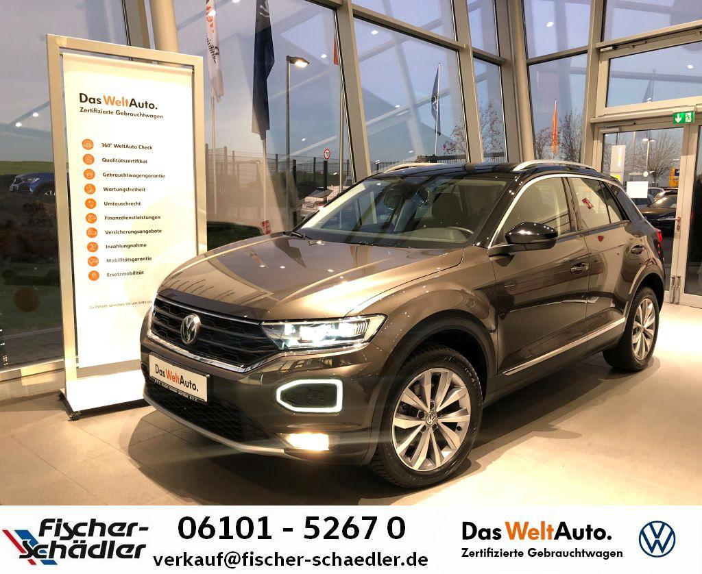 Volkswagen T-ROC Style 1.5TSI*DSG*LED*Navi*SpurAssis.*Tel.*, Jahr 2018, Benzin