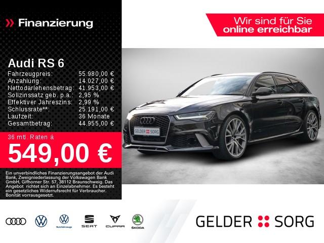 Audi RS6 Avant 4.0 TFSI qu. Performance*Milltek*Matrix, Jahr 2017, Benzin