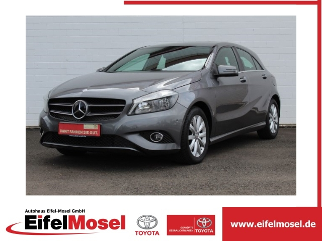 Mercedes-Benz A 200 Style BlueEfficiency Navi-Parkpilot-Klima, Jahr 2014, petrol