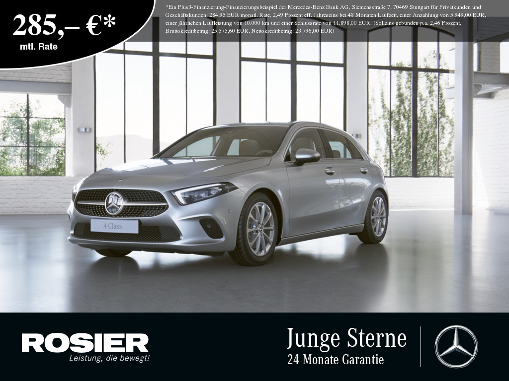 Mercedes-Benz A 250 Progressive, Jahr 2018, Benzin
