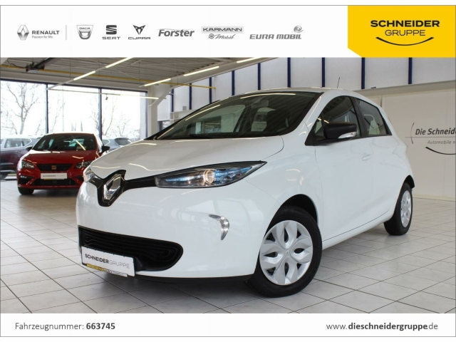 Renault ZOE Life zzgl. Batteriemiete m. Option auf ZE40, Jahr 2017, Elektro