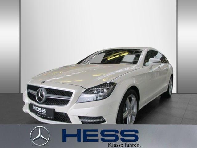 Mercedes-Benz CLS 350 CDI SB 4M AMG Com Distr Burm KeyGo Nacht, Jahr 2014, Diesel