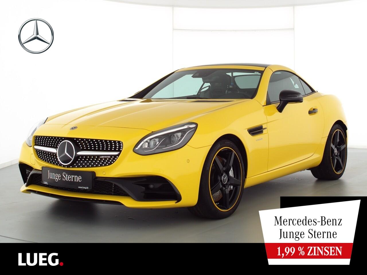 Mercedes-Benz SLC 43 AMG COM+Pano+LED-ILS+Distr+H&K+Mem+ParkAs, Jahr 2020, Benzin