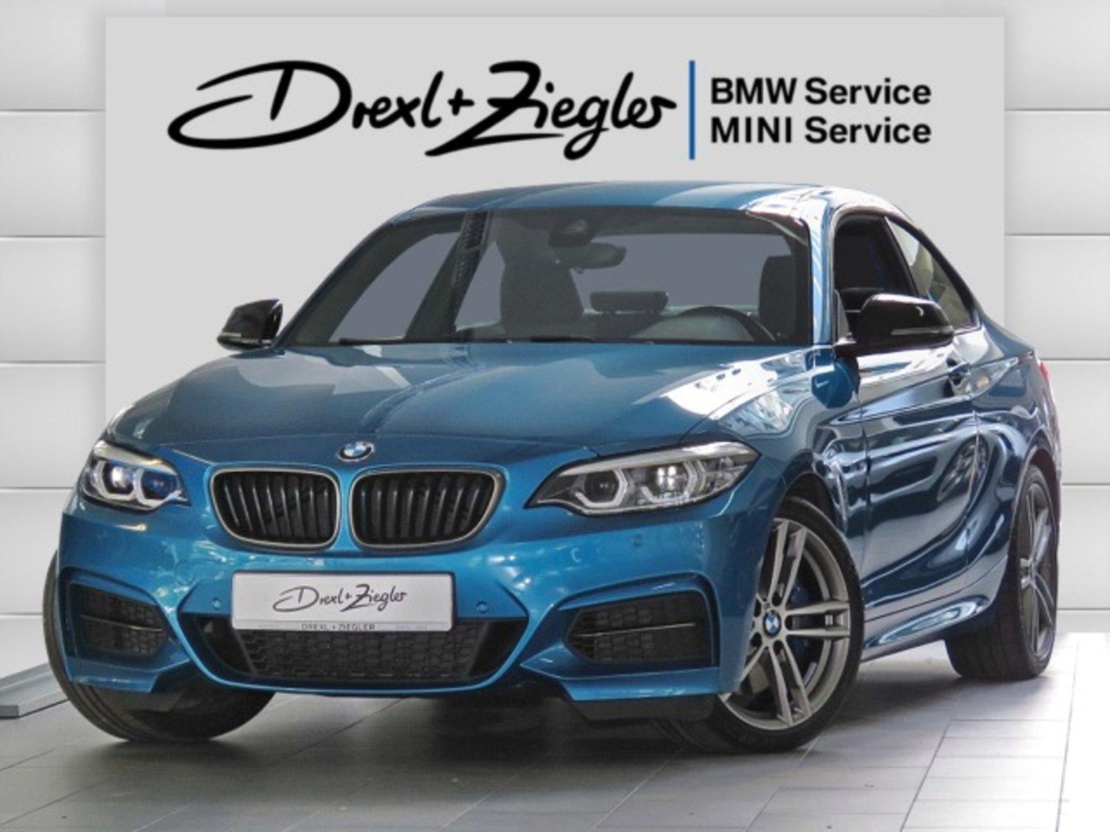 BMW M240i xDrive Coupe NaviProf H&K LED Komfzg eSitze, Jahr 2019, Benzin