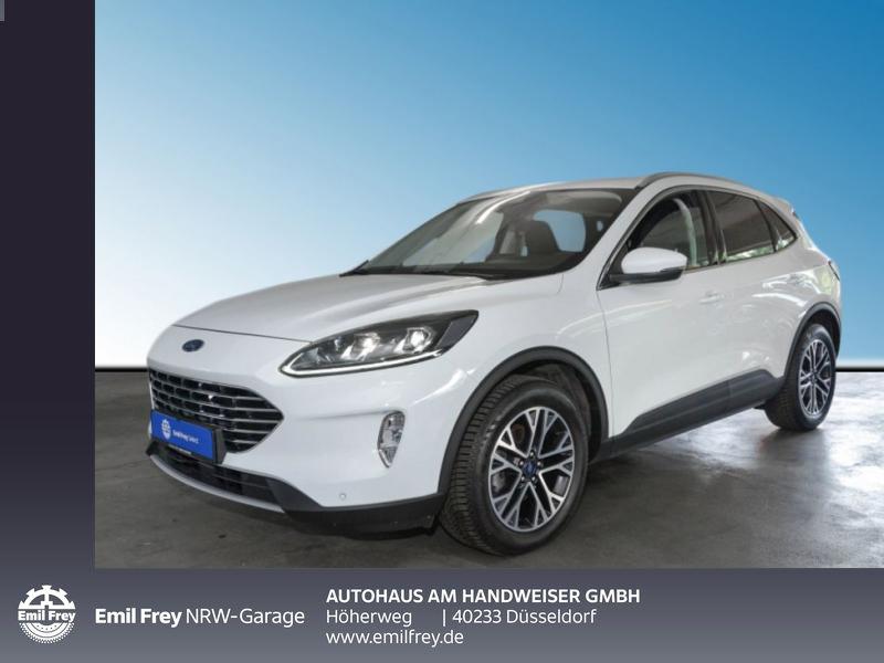 Ford Kuga 2.0 EB Hybrid TITANIUM X,AHK,Technologie,Winter, Jahr 2020, Diesel