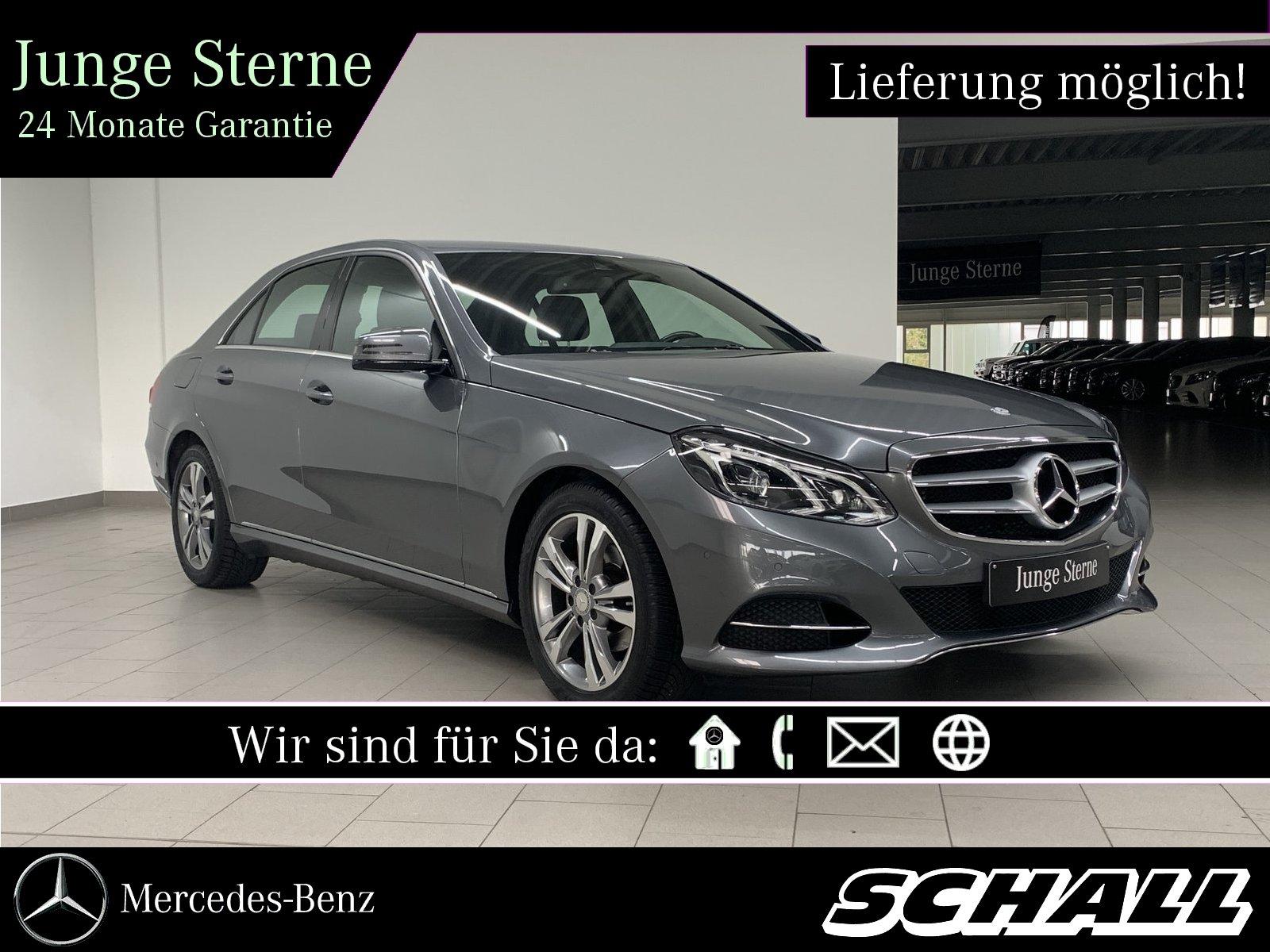 Mercedes-Benz E 200 BT AVANTGARDE+LED INTELLIGENT+NAVI+PARKTRO, Jahr 2015, Diesel