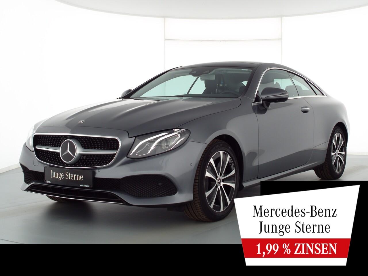 Mercedes-Benz E 200 Coupe Avantgarde+COM+Pano+LED+DistrPl+360°, Jahr 2019, Benzin