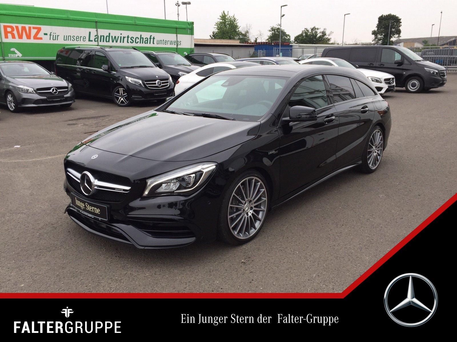 Mercedes-Benz CLA 45 4M SB Night DISTRO Pano LED Comand SpurPk, Jahr 2018, Benzin