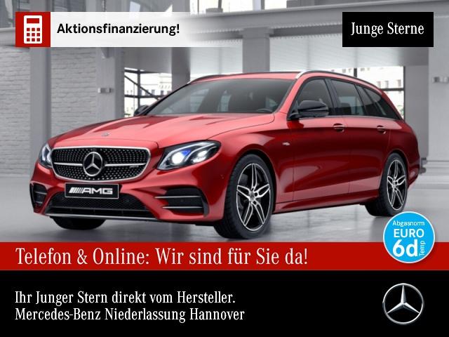 Mercedes-Benz E 53 AMG T 4M+ Fahrass.Wide.COM.SHD.AHK.Multi, Jahr 2018, Benzin