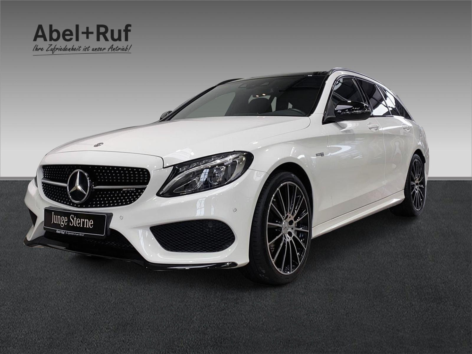 Mercedes-Benz C 43 AMG 4MATIC T-Modell+PANO+AHK+COMAND+HUD+LED, Jahr 2018, Benzin