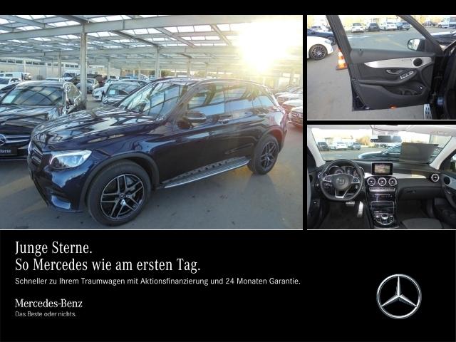 Mercedes-Benz GLC 300 4M AMG,Night,Kam.,Spurp.,Navi,LED,Trittb, Jahr 2018, petrol