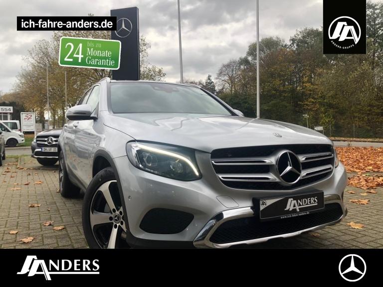 Mercedes-Benz GLC 350 d 4M Exclusive+Pano+HUD+LED+Navi+SHZ+ABC, Jahr 2017, Diesel