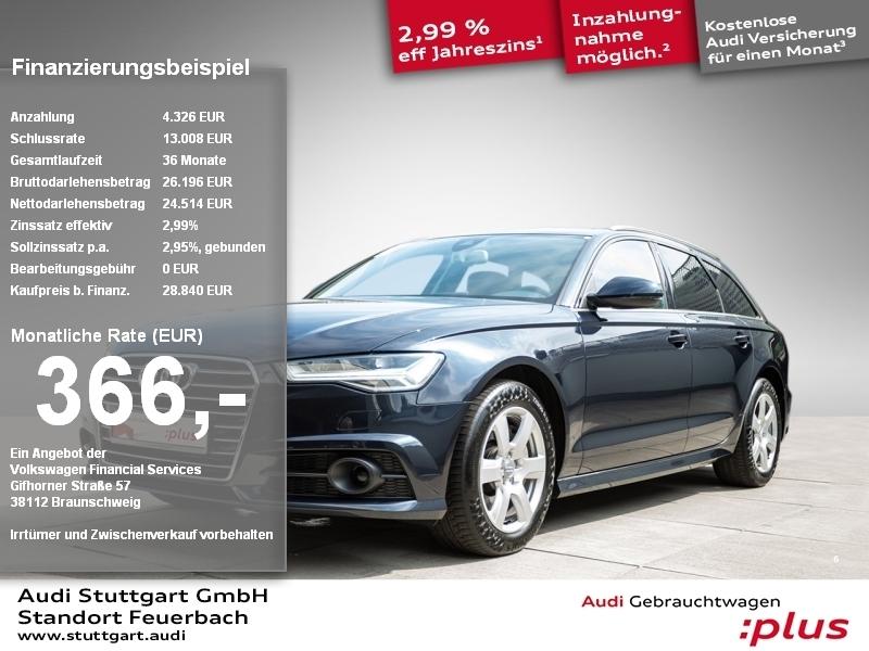 Audi A6 Avant 3.0TDI quattro Leder AHK ACC el. Sitz, Jahr 2017, Diesel