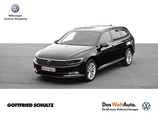 Volkswagen Passat Var. 1 8 TSI Highline DSG LED NAVI AHK KAMERA SHZ PDC LM ZV, Jahr 2018, Benzin