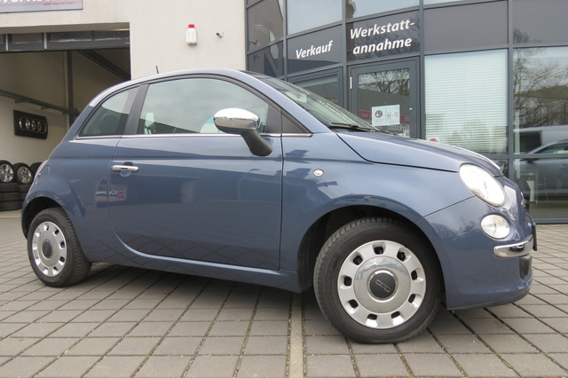 Fiat 500 1.2 Pop Star Klima Chrom Paket/Mfl/Bluetooth, Jahr 2014, Benzin
