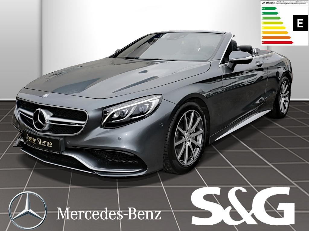 Mercedes-Benz S 63 AMG 4MATIC Distronic/360°/Navi/Sitzheizung/, Jahr 2016, Benzin