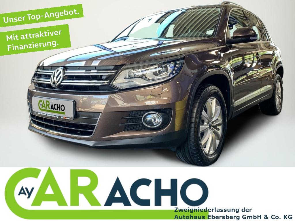 Volkswagen Tiguan Sport & Style 2.0 TSI Xen AHK Park-Lenk, Jahr 2013, Benzin