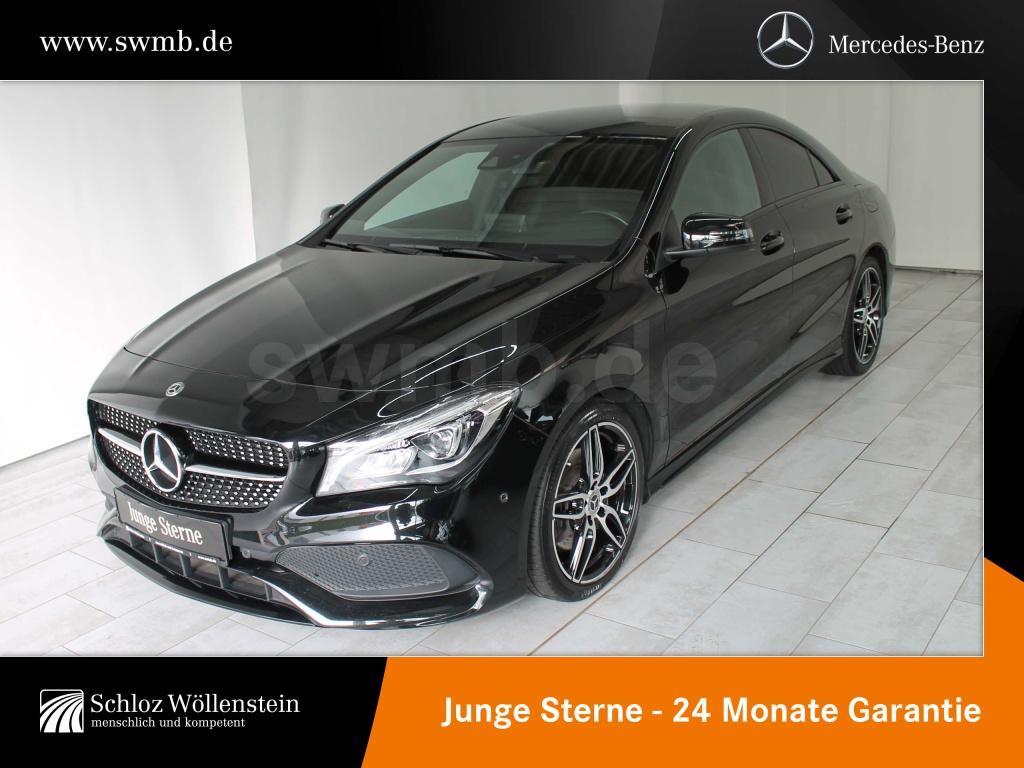 Mercedes-Benz CLA 250 AMG/NIGHT/LED/RfCam/Harman/Sitzheizung, Jahr 2018, Benzin