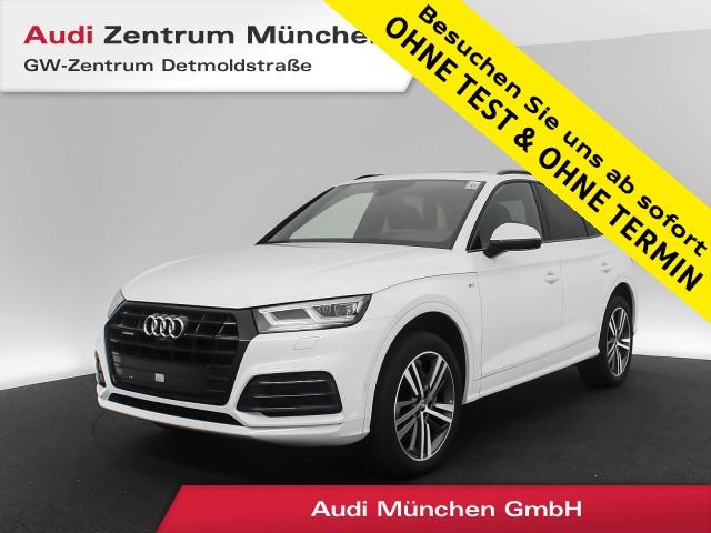 Audi Q5 40 TDI qu. Sport S line B&O HUD Pano Virtual MatrixLED Navi Front/R-Kamera S tronic, Jahr 2019, Diesel