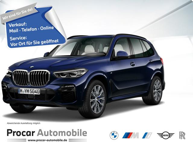 BMW X5 xDrive30d M Sport 20'' HuD H/K AHK DAB RFK, Jahr 2020, Diesel