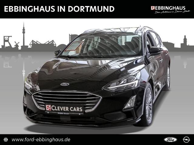 Ford Focus Turnier Titanium NAVI DAB LED TEMP PARK-ASS RFK, Jahr 2019, Benzin