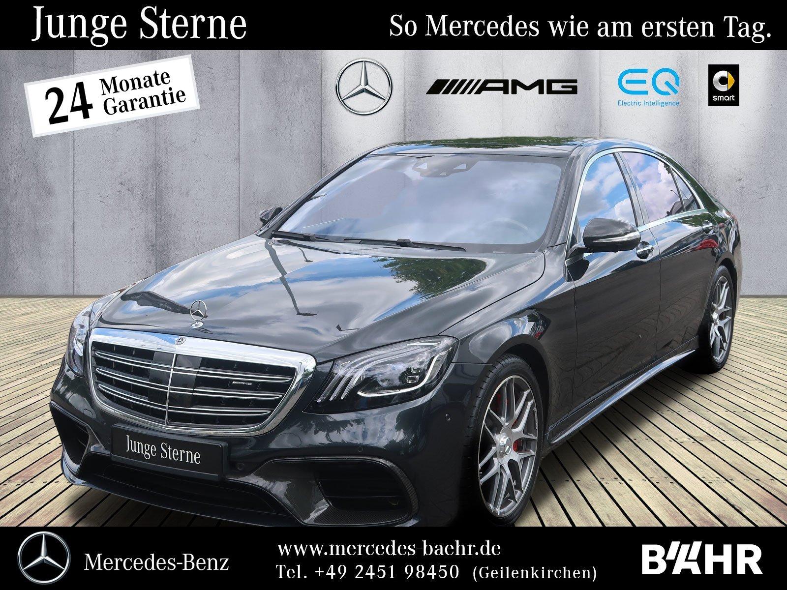 Mercedes-Benz S 63 AMG 4M+ lang Brabus-Umbau/First-Class Fond, Jahr 2018, Benzin