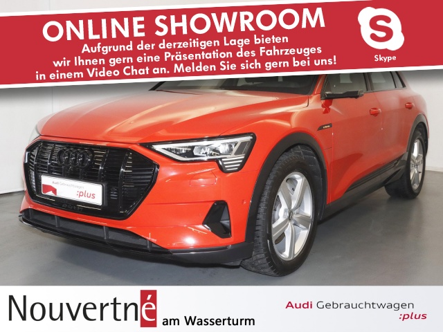 Audi e-tron 55 quattro advanced BuO Matrix optikpaket, Jahr 2019, Elektro